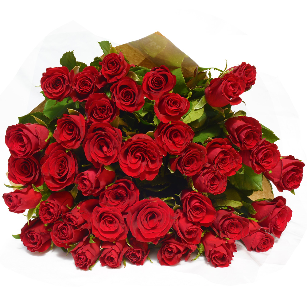 Send Romantic Red Roses to Cape Town - Flowers For Everyone